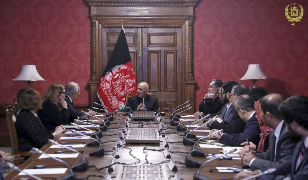 US envoy: 'Agreement in principle' on Afghan peace talks