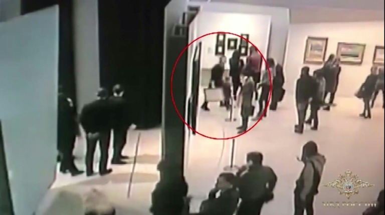 Suspect nabbed in brazen art theft from Moscow museum