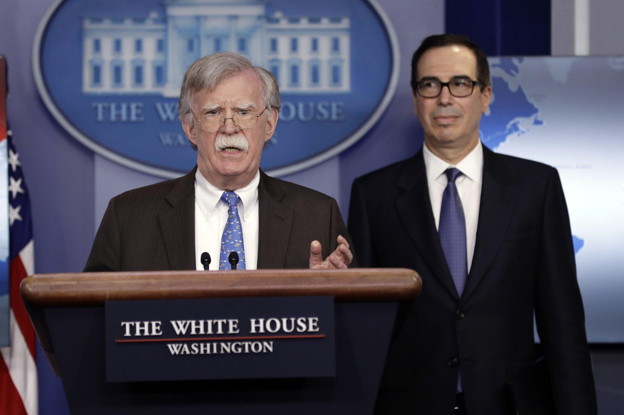 US slaps sanctions on Venezuela's state-owned oil firm
