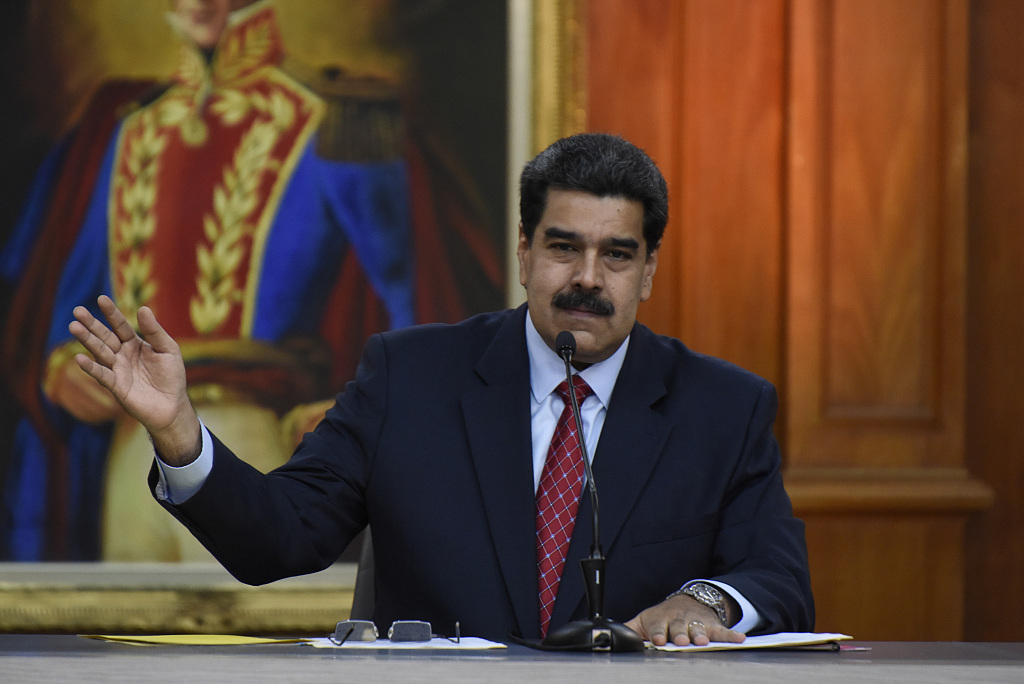 Maduro vows legal action against US over PDVSA sanctions