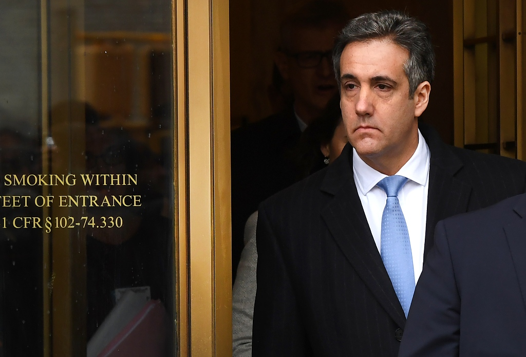 Trump ex-lawyer Cohen to privately testify to Congress on February 8