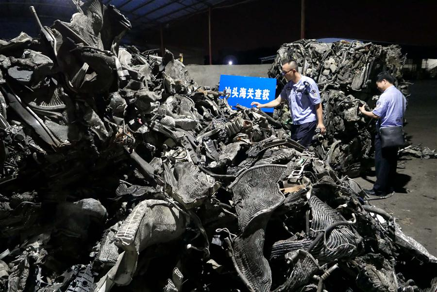 Crackdown on waste smuggling a 2019 priority, officials declare
