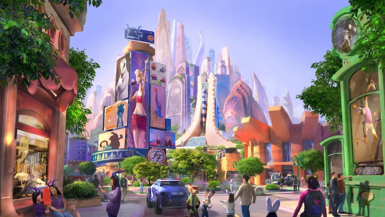 Shanghai Disney is getting a big, new Zootopia-themed attraction