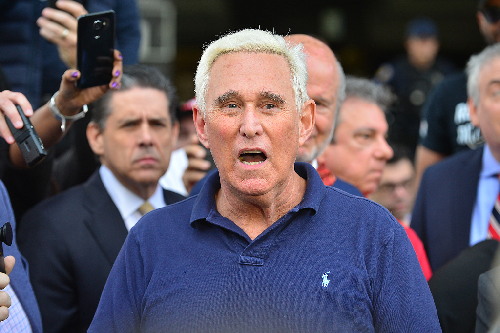 Trump confidant Roger Stone to face federal judge in DC