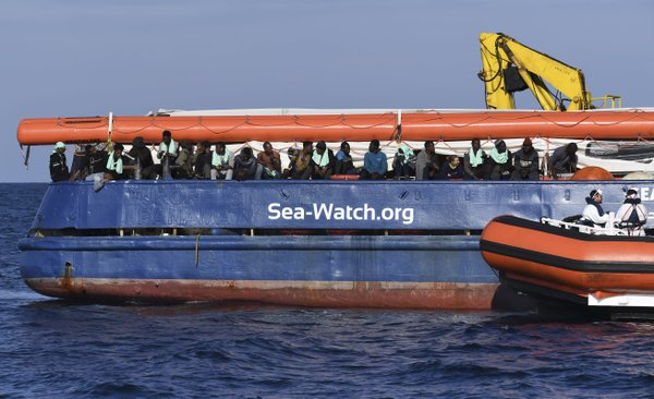 Europe's rights court denies request to disembark migrants