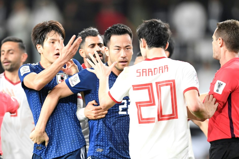 Call in Iran for footballers to be punished over Japan melee