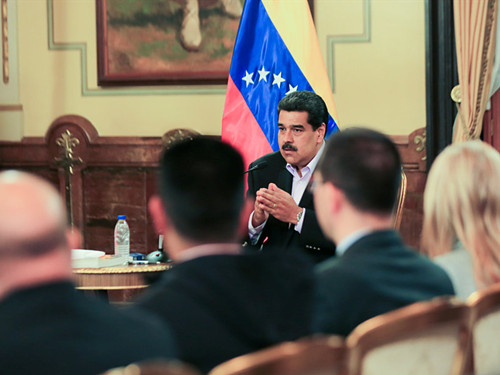 US 'childish' in conducting foreign policy, says Venezuela's Maduro