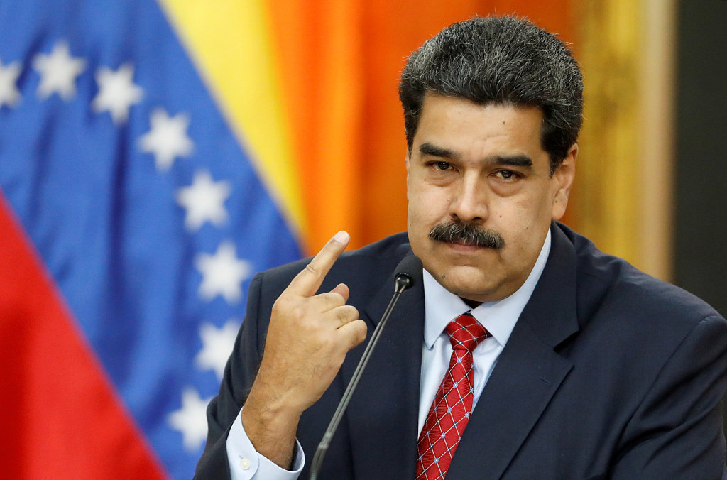 Maduro says ready to negotiate with opposition with int'l mediation: report