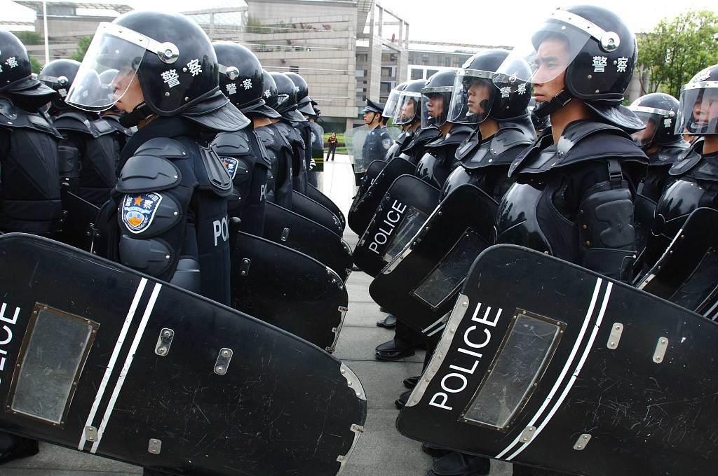 China to better protect police officers
