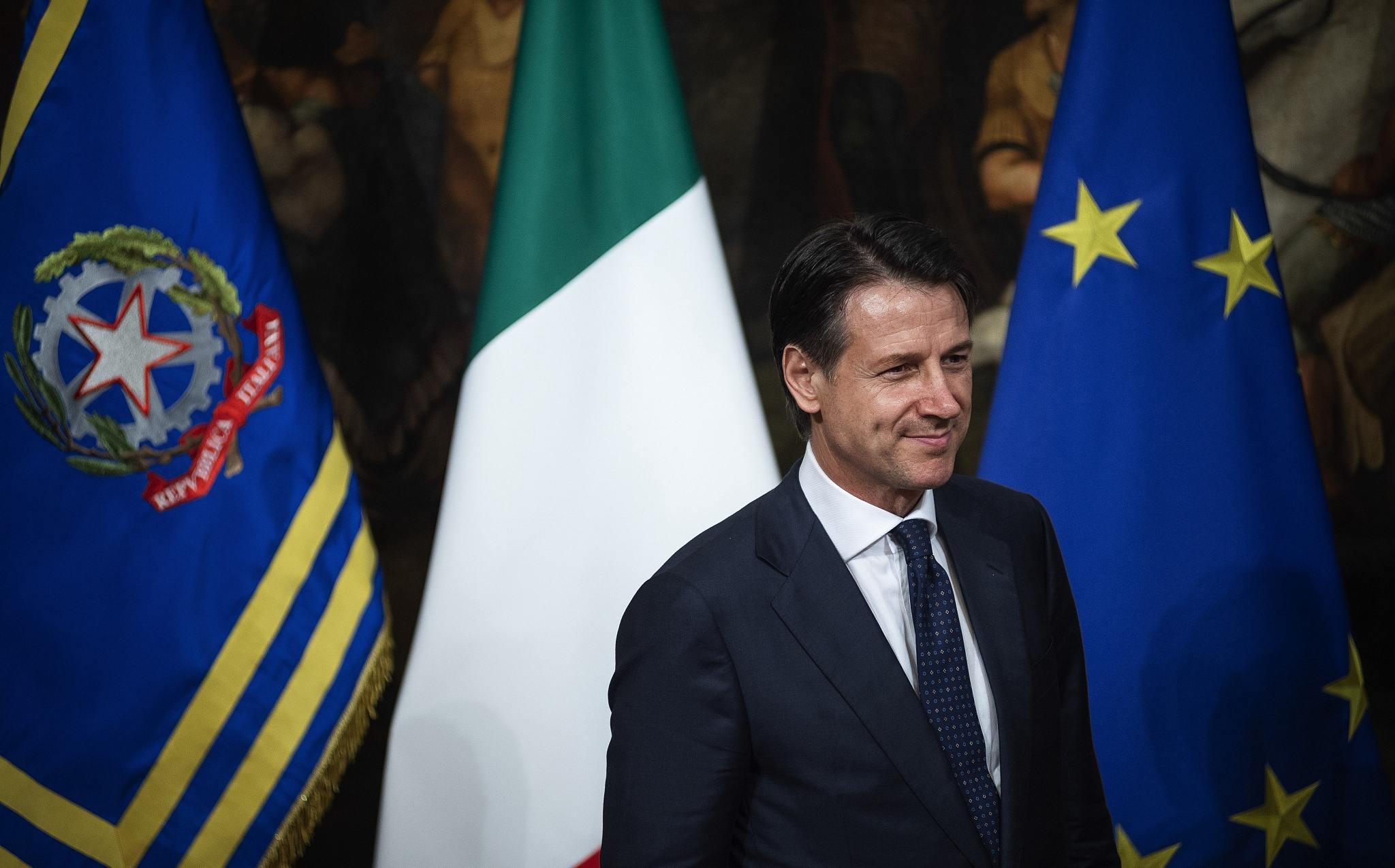 Italian Prime Minister Giuseppe Conte cgtn.jpg