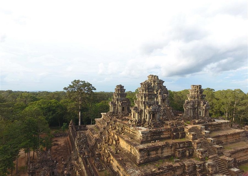 Chinese experts help preserve Cambodia's Angkor temples, forge China-ASEAN cultural bond