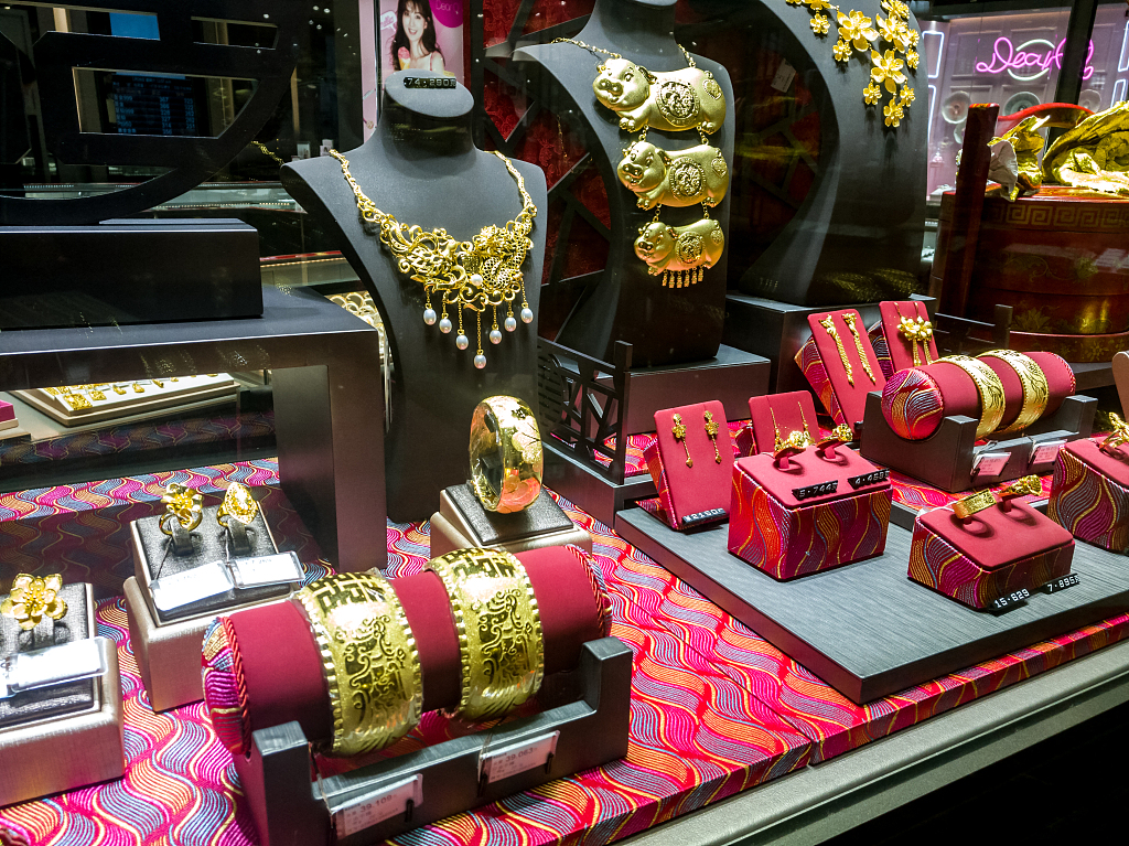 China tops world's gold consumers for 6th year