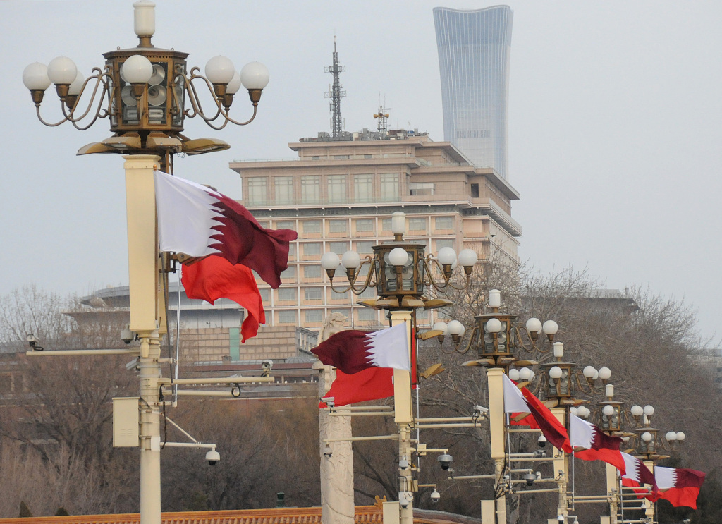 China, Qatar agree to deepen strategic partnership