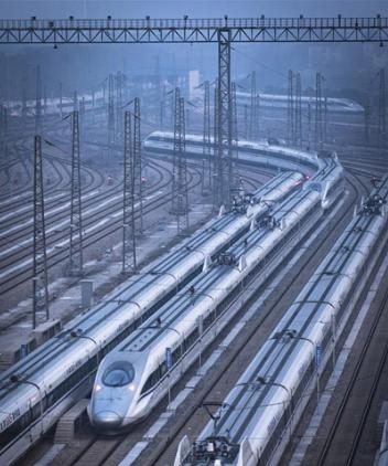 High-speed railway drags China forward