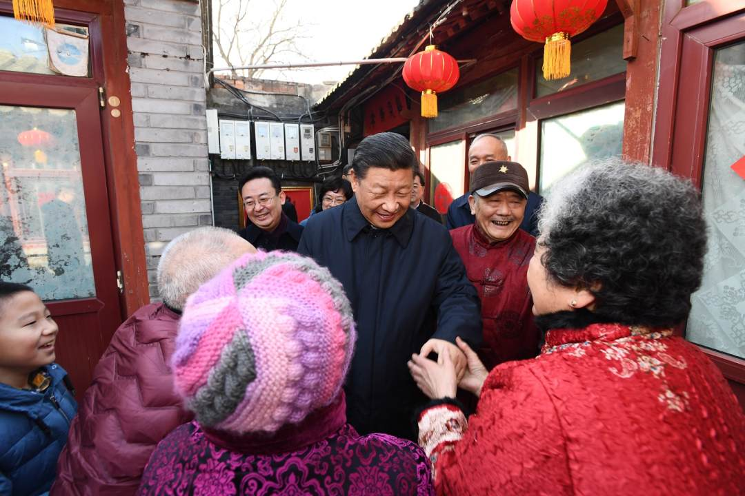 Xi sends Spring Festival greetings in Beijing inspection tour