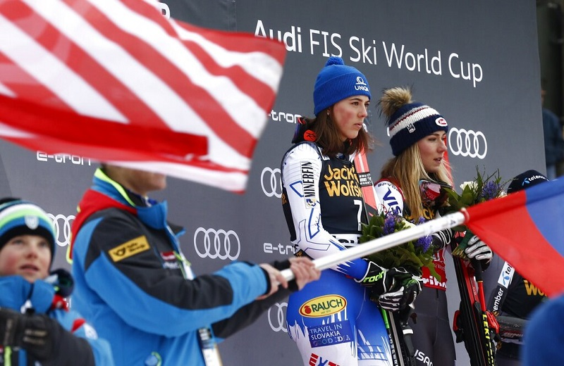 Shiffrin, Vlhova share victory in last GS before worlds