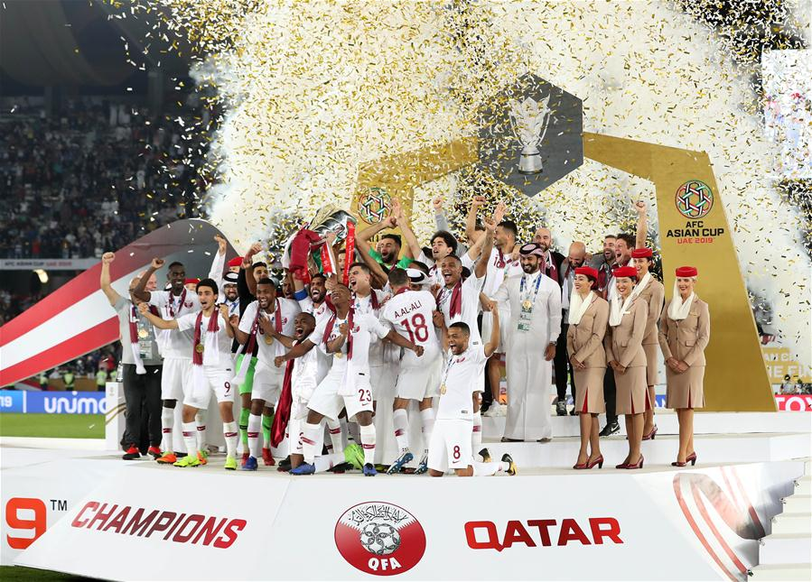 Almoez Ali leads Qatar to its first-ever Asian Cup glory