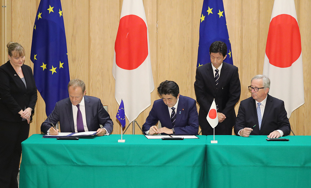 Japan-EU Economic Partnership Agreement comes into force