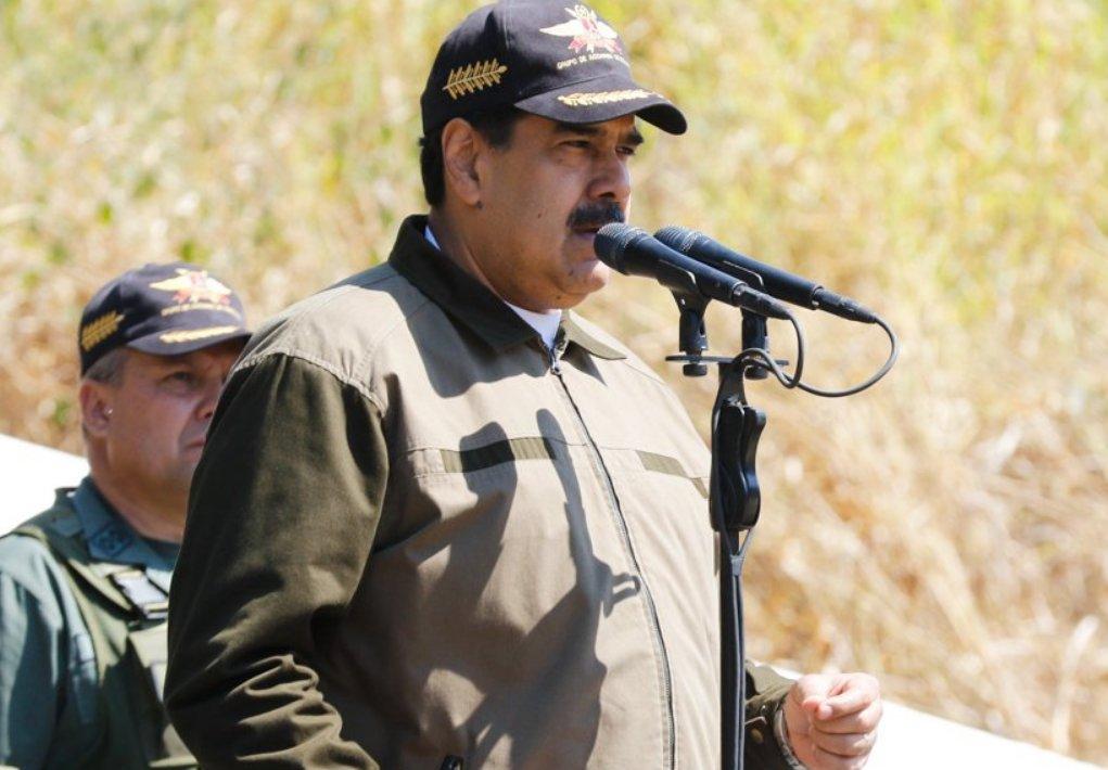 Venezuelan president visits military commandos, calls for strengthening intelligence