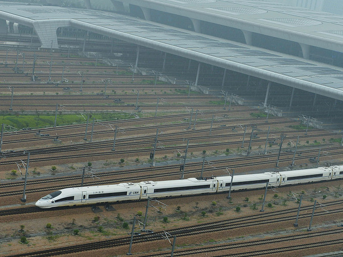 China's first PPP-funded high-speed railway under construction