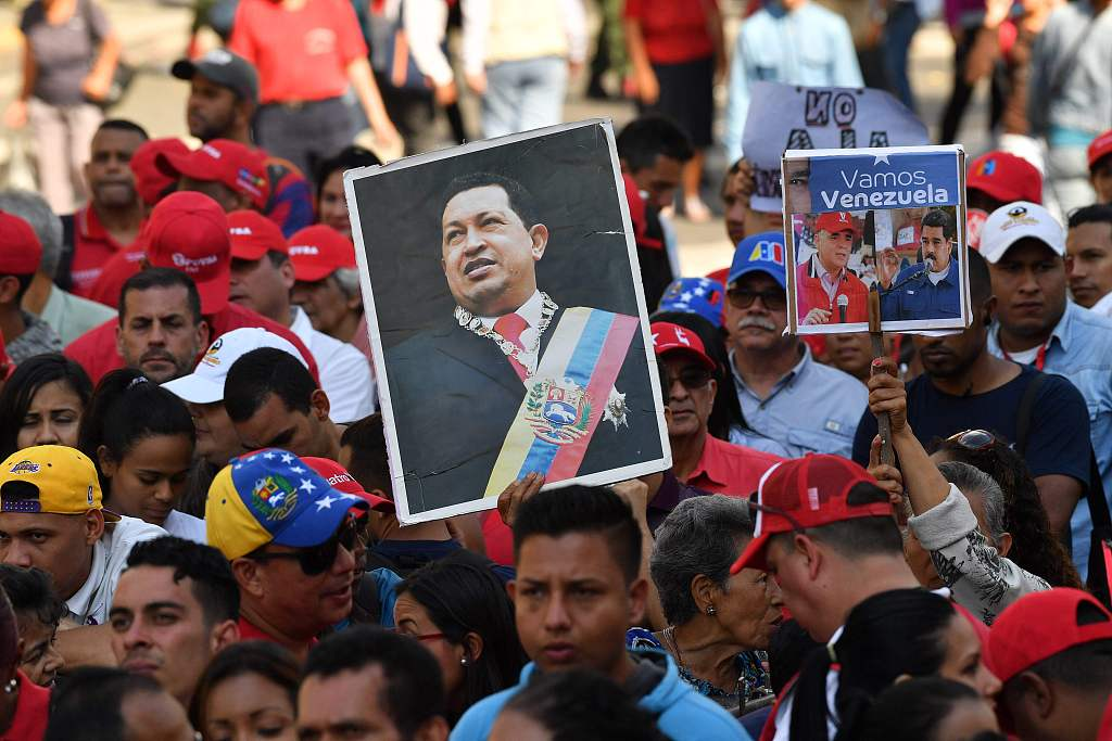 Hoping for peaceful resolution, Venezuelans say no to foreign intervention