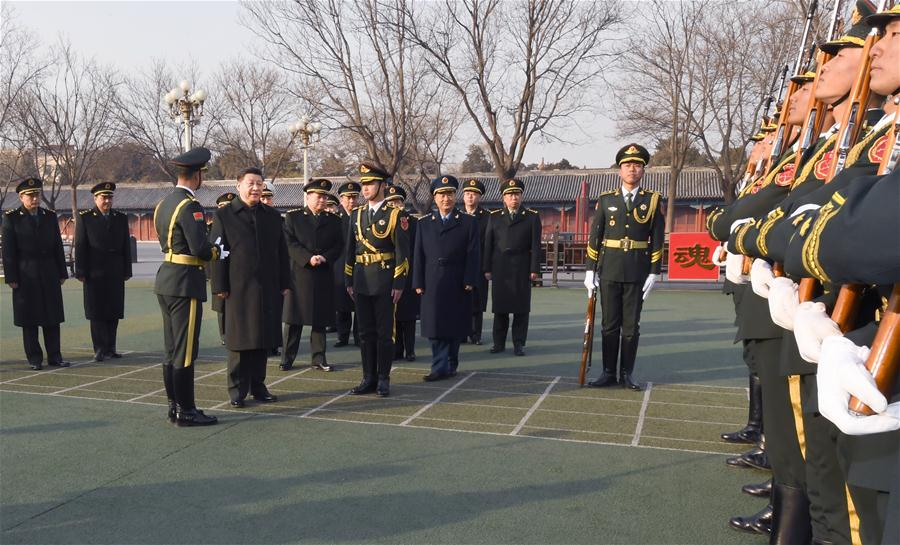 Xi extends festive greetings to all servicemen