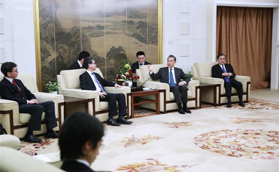China, Japan vow to push ties towards a higher level