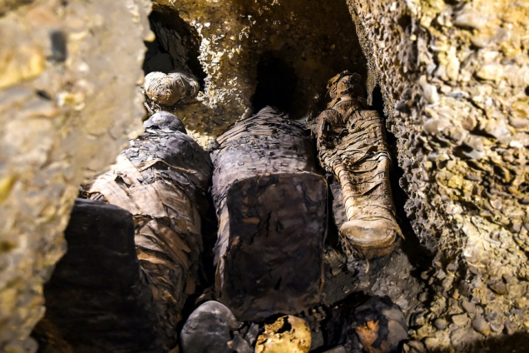 Egypt unveils more than 40 ancient mummies