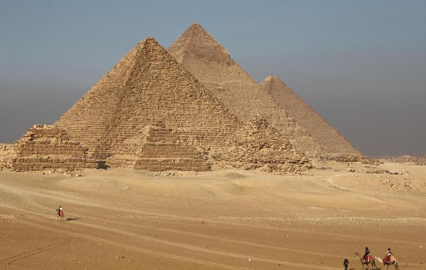 Pharaonic tomb found under house near Giza pyramids