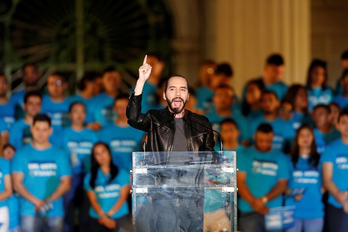 Bukele declares victory in El Salvador's presidential race
