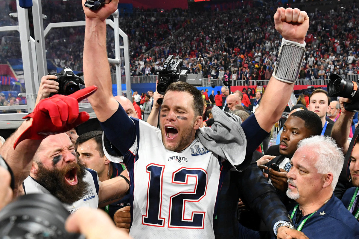 Patriots beat Rams to win sixth Super Bowl title