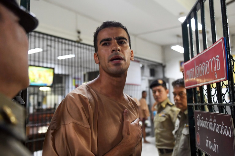 'Don't send me to Bahrain': refugee footballer pleads in Bangkok