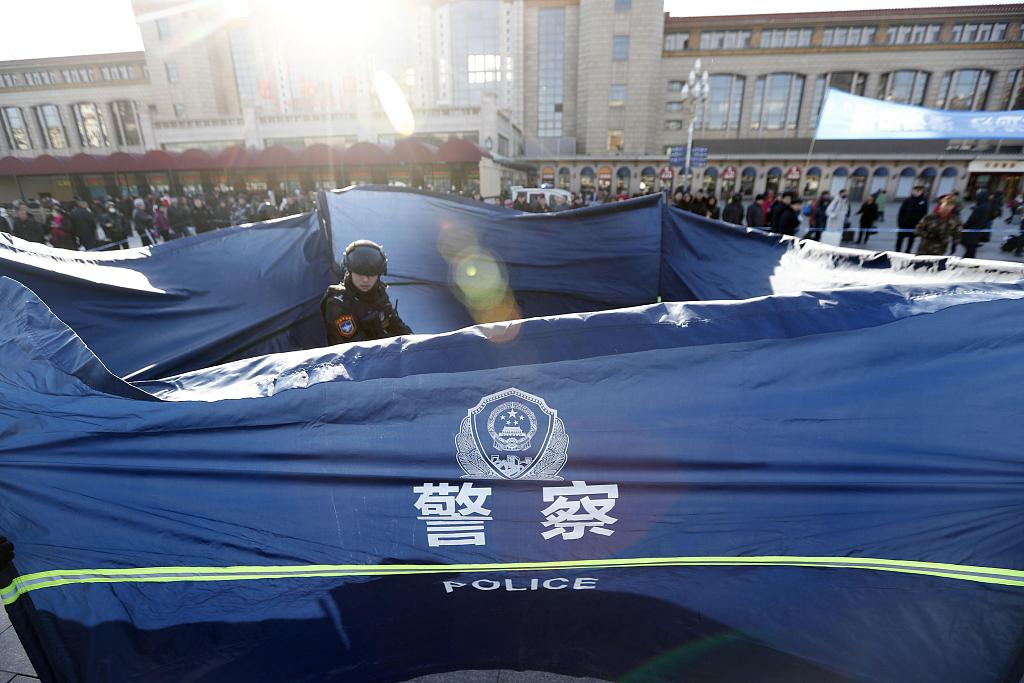 150,000 policemen dispatched to ensure road safety on Chinese New Year's eve