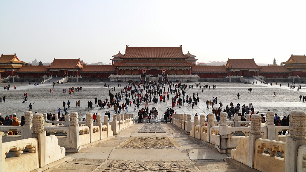 Palace Museum tickets sold out during Spring Festival