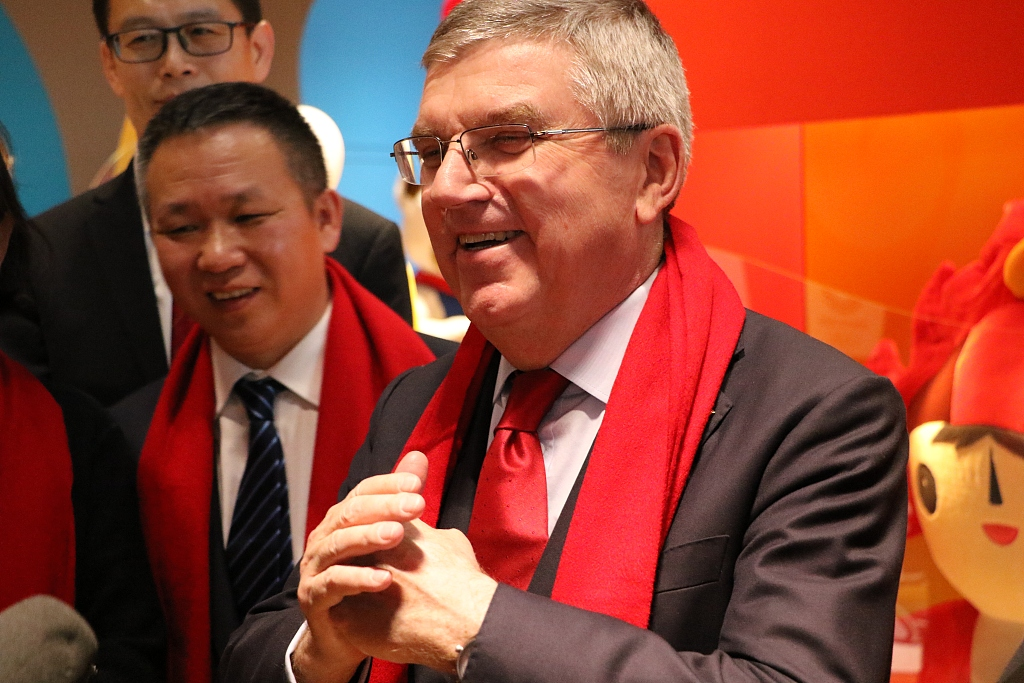 IOC celebrates China's Spring Festival with art exhibition in Olympic Museum