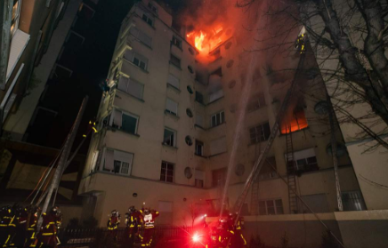 Fire in wealthy Paris district kills at least 10, woman arrested