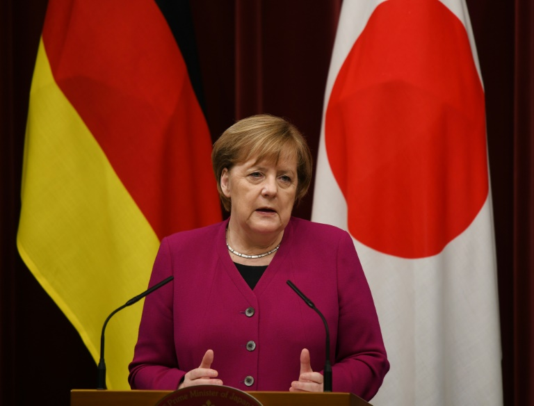 Germany's Merkel says 'still time' to find Brexit solution