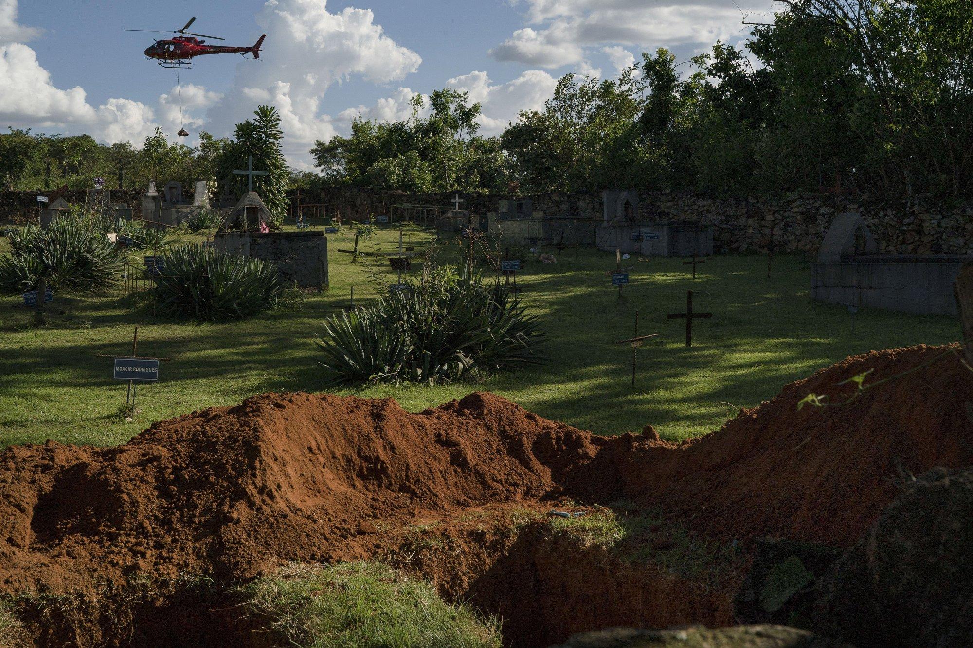 Brazil institute: Potential health crisis from dam breach