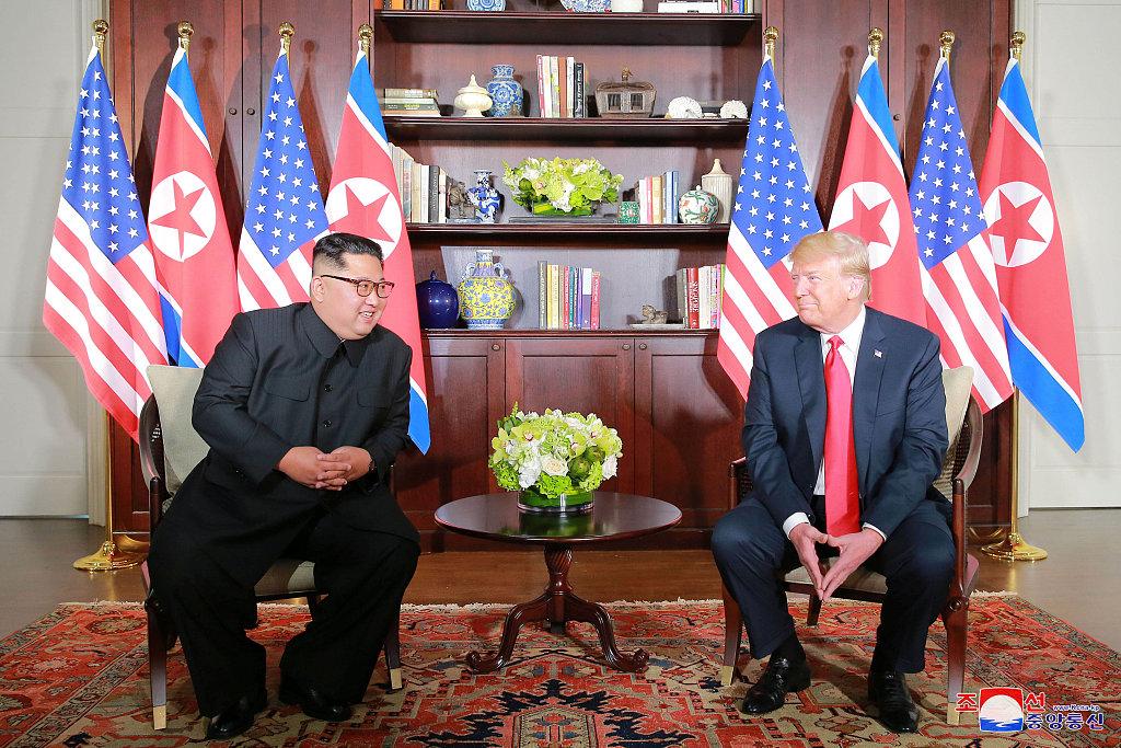 Trump says to meet DPRK top leader Kim Jong-un in Vietnam on Feb. 27-28