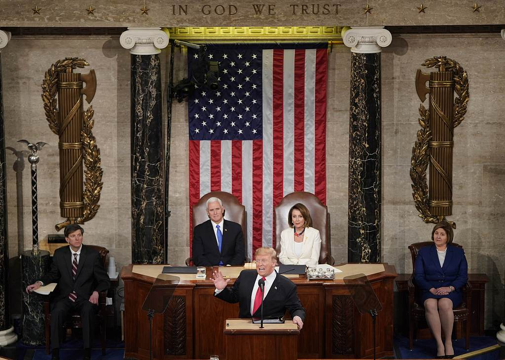 Trump, facing divided Congress, calls for unity, bipartisan cooperation