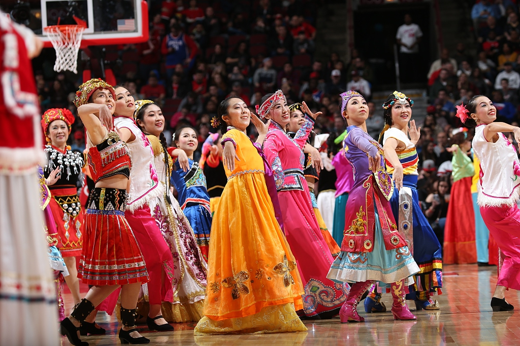NBA sides celebrate Chinese Lunar New Year to grow fan base