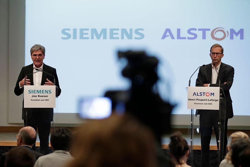 EU executive prohibits merger between Siemens, Alstom