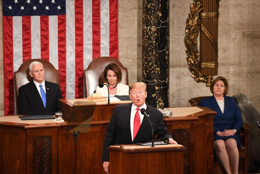 Trump urges unity in State of the Union address amid bitter political fight, polarization