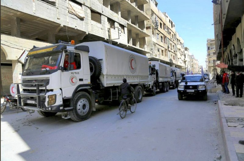 UN launches 'largest ever' aid convoy for Rukban camp in Syria: spokesman