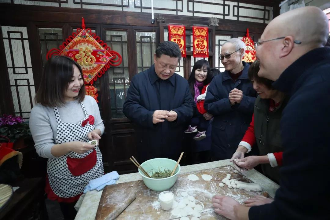 President Xi Jinping's 'homely words' in his Spring Festival greetings