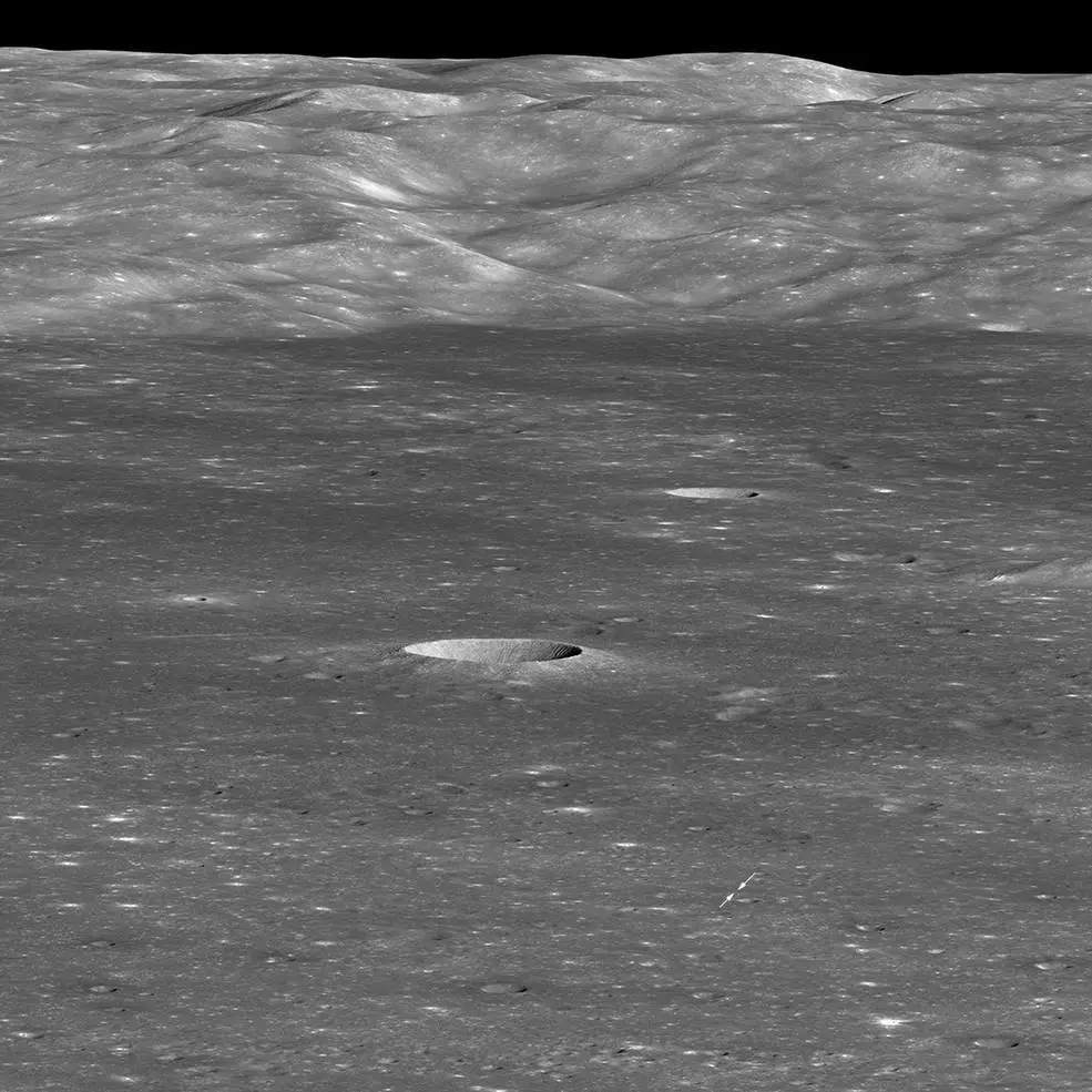 China's Chang'e-4 on far side of moon photographed by NASA's lunar satellite