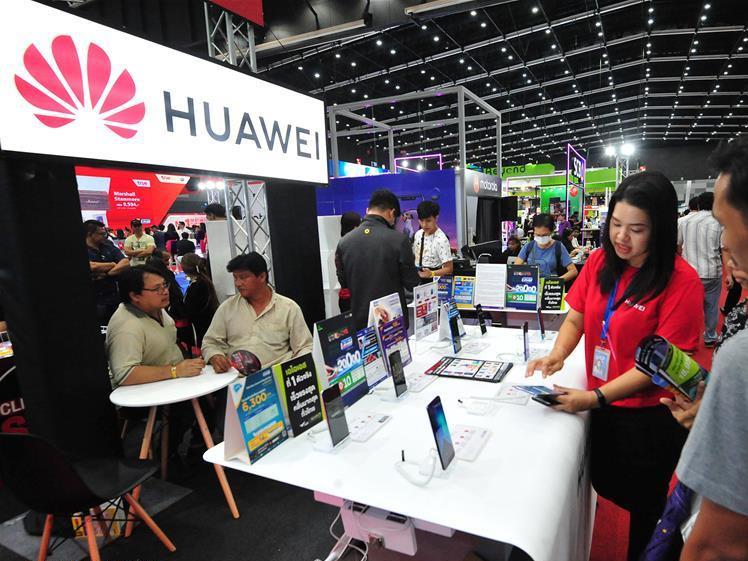 Highlights of Thailand Mobile Expo 2019 in BITEC Bangna Exhibition in Bangkok