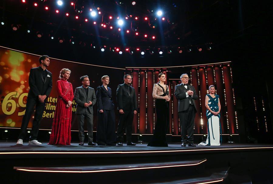 Opening ceremony of 69th Berlin International Film Festival