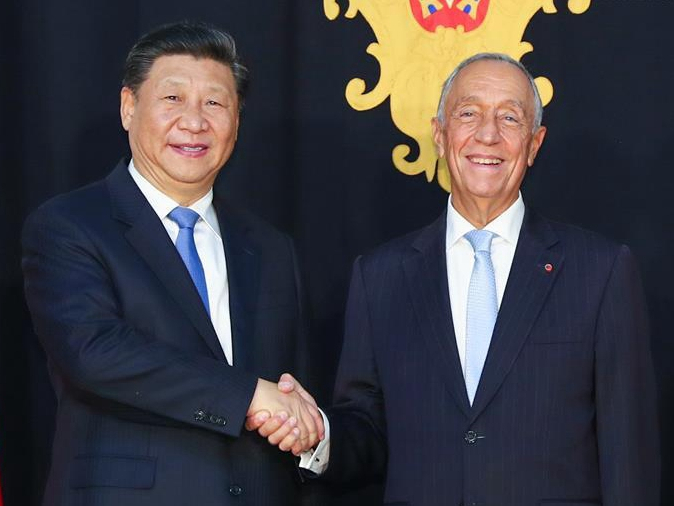 Chinese, Portuguese leaders exchange congratulations on 40th anniversary of diplomatic ties