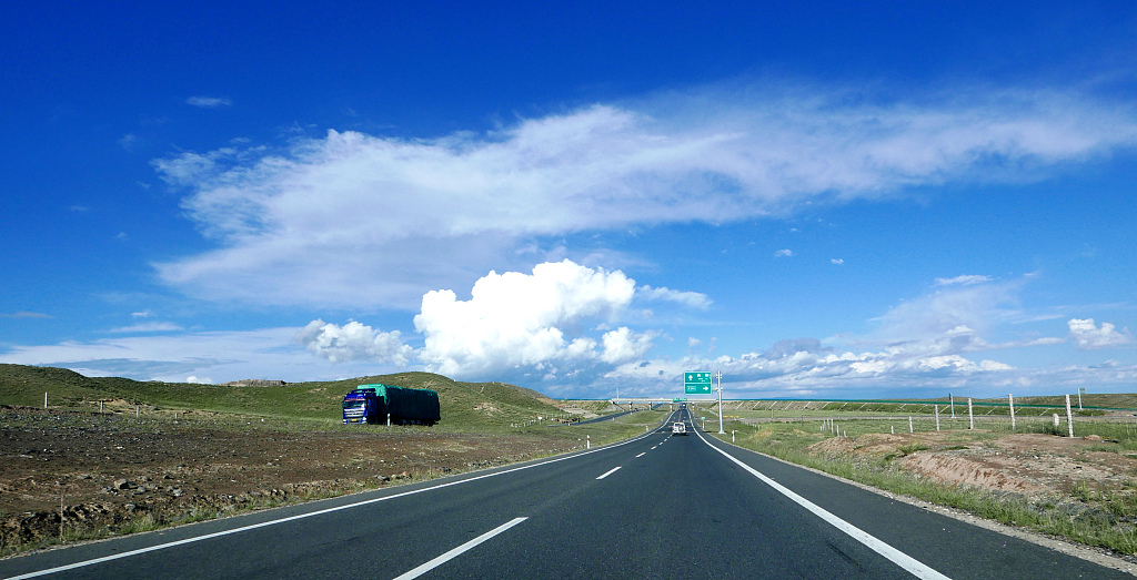 Expressways reach all cities in Qinghai